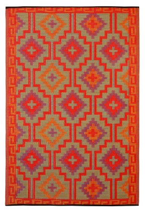 Durable indoor and out door rug for patio