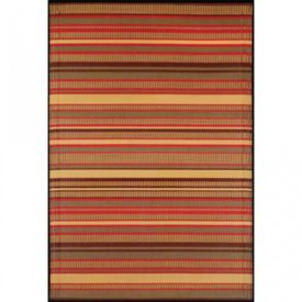 Brown patio rug