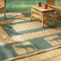 Guide Gear 6x9' Reversible Lodge Patio...