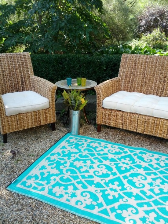Patio Rug Tips Choosing Perfect Indoor Outdoor Rugs