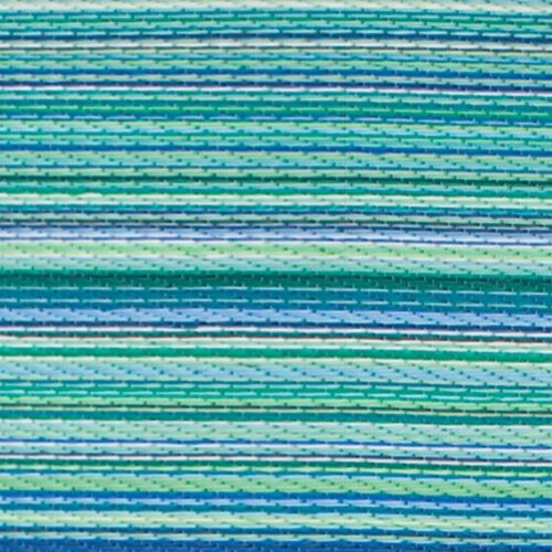 Cancun outdoor rug - Turquoise & Moss Green