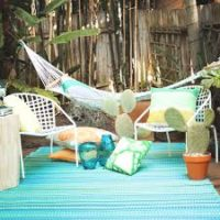 Cancun outdoor rug for patio