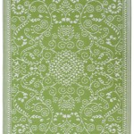 Murano Lime Green & Cream Indoor Outdoor Mat Review